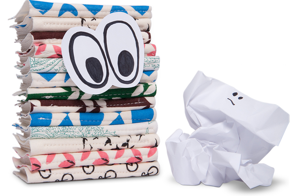 Tissues vs. Handkerchiefs – which is more hygienic? The answer may surprise you.