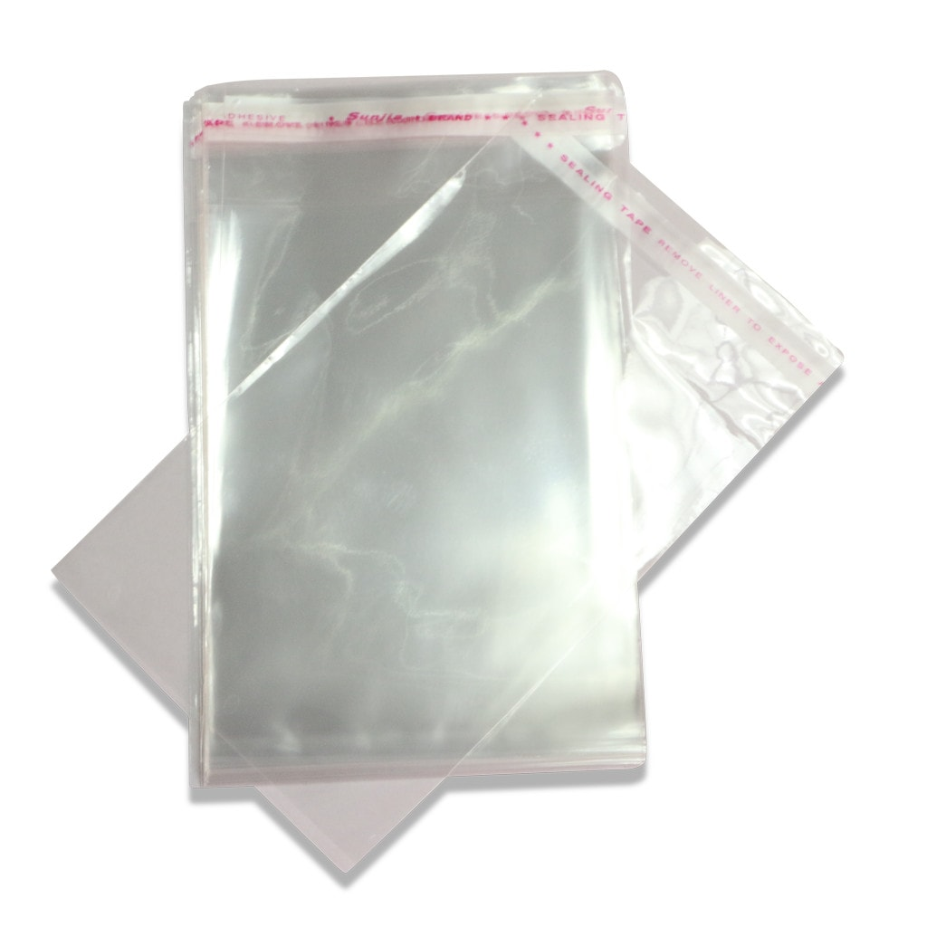 Unassembled Cellophane Bags
