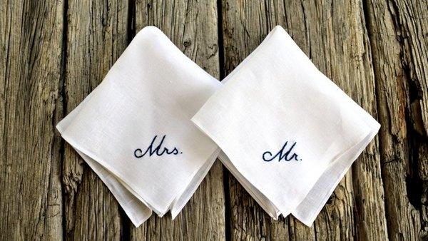 Marriage handkerchief