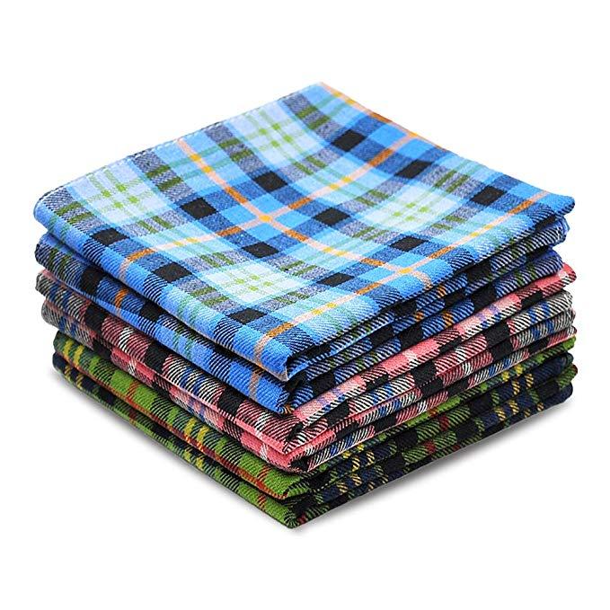 Plaid handkerchief