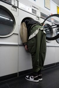 Head in dryer