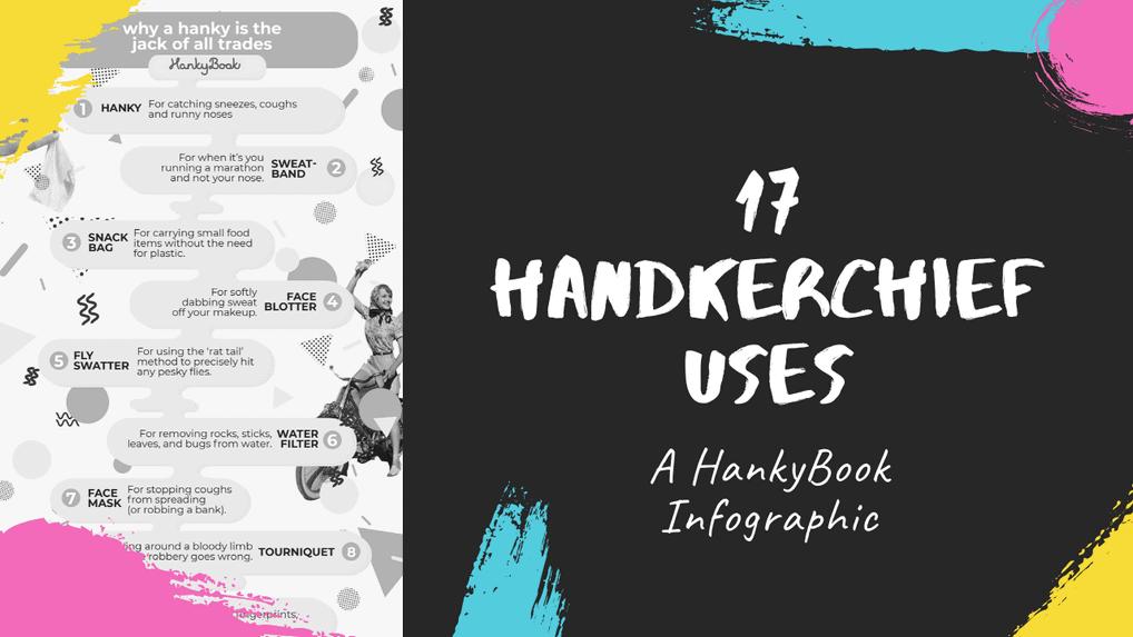 17 Handy Handkerchief Uses [Infographic]
