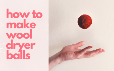 How to Make Felted Wool Dryer Balls (With Video)