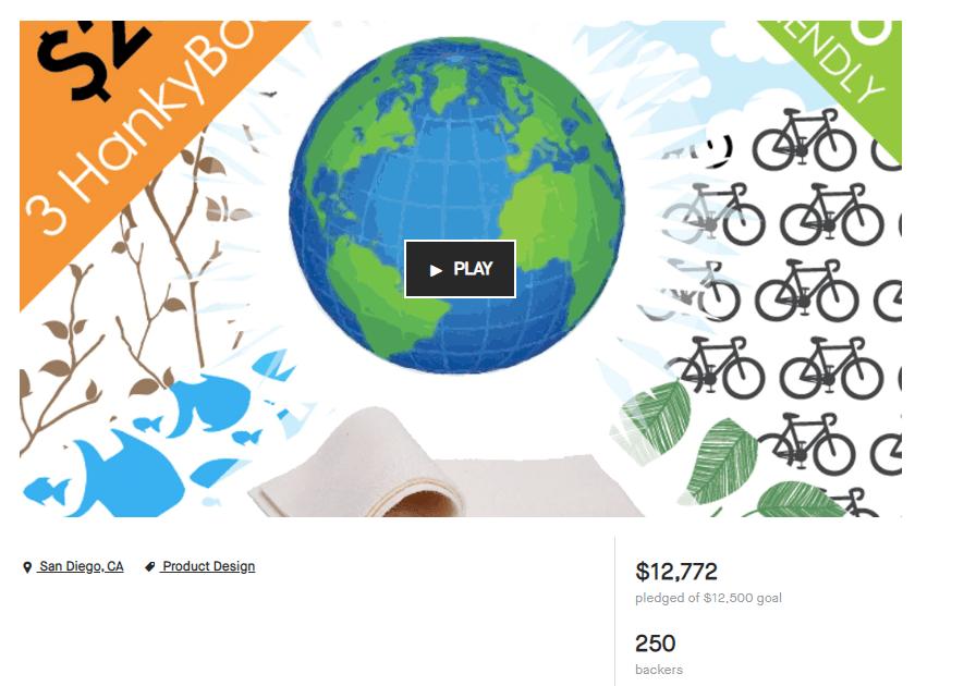 HankyBook Kickstarter