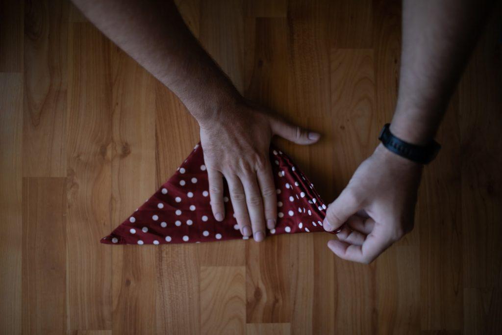 folding pocket square