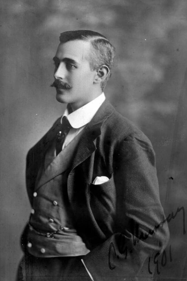 Historical man handkerchief